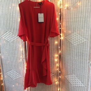 Who What Wear red dress NWT